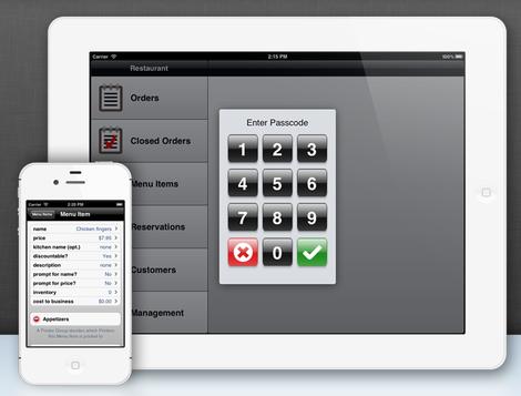 logiciel de caisse sur ipad