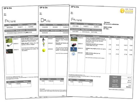 EBP Point de Vente: les factures
