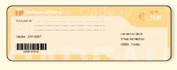 EBP Point de Vente: chèque cadeau