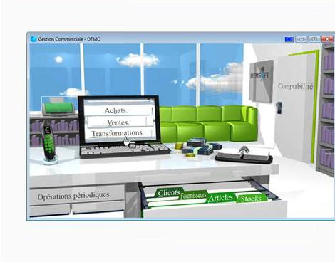Memsoft TPV Oxygène: gestion commerciale