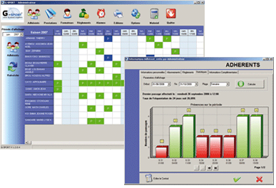 G-Sport, logiciel de gestion de salle de sport