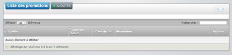 eCaisse: logiciel de caisse en ligne: les promotions