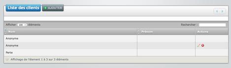 eCaisse: logiciel de caisse en ligne: les clients