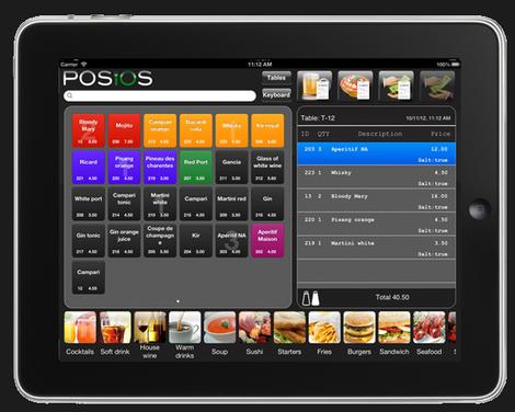 POSIOS: logiciel de caisse pour restaurant