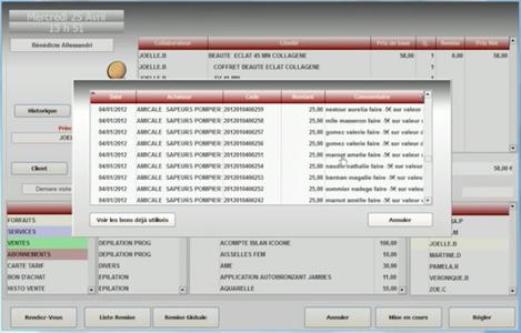 Crystone, logiciel de caisse pour salon de coiffure