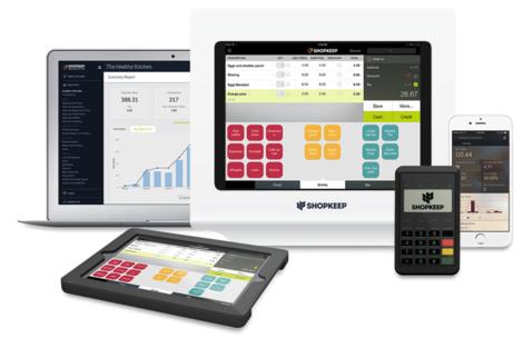 Logiciel de caisse ShopKeepPOS sur iPad