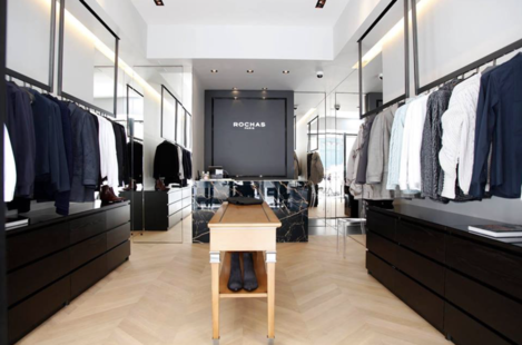 La boutique Rochas Paris choisit la caisse iPad Melkal