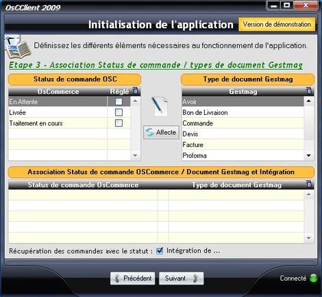 Synchronisation des statuts de commandes avec les documents commerciaux