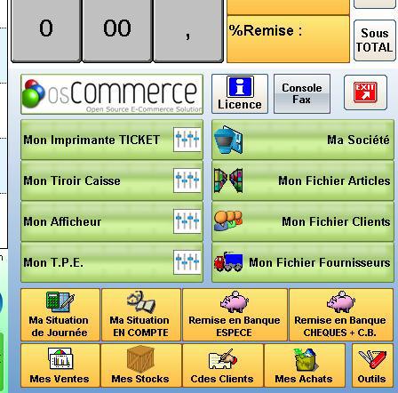 Gestion d'un site web marchand avec OS-Commerce * et A2GI-Caisse *