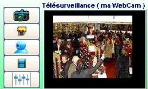 Télésurveillance: webcam pilotée par le logiciel de caisse