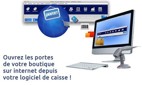 Logiciel de caisse Artifact intégrant un site web d'e-commerce complet