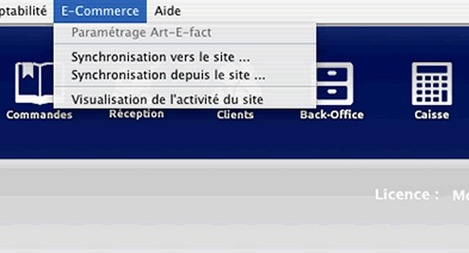 Synchronisation manuelle entre Artifact et Prestashop