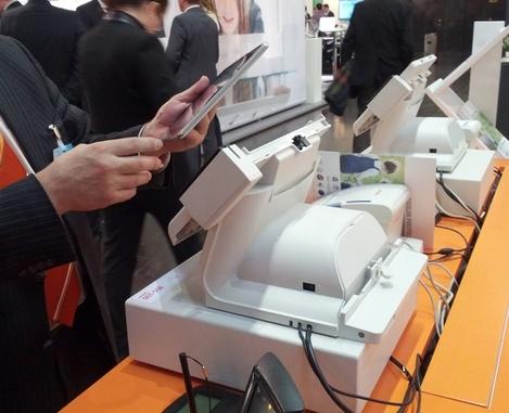 Bixolon BDS-100 avec tablette tactile amovible
