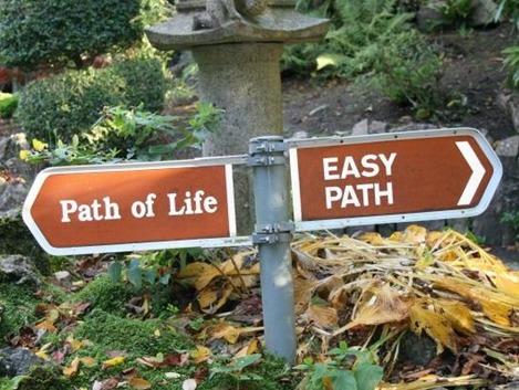 Le chemin le plus facile n'est pas toujours le plus judicieux...
