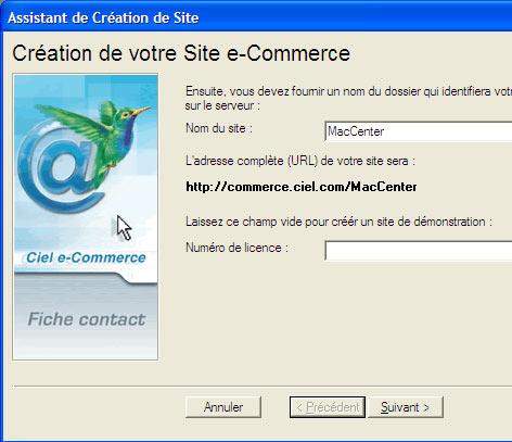 ciel point de vente: création d'un site d'e-commerce