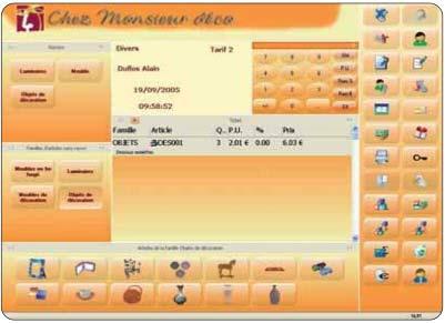 logiciel de caisse EBP Point de vente 2006