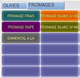 Firstmag: pavé tactile de l'écran de caisse