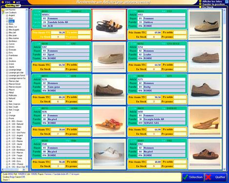 Arborescence d'articles avec photos dans Gestmag 2007