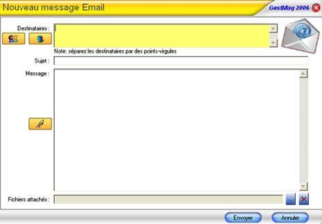 gestmag multi-sites: envoi d'email