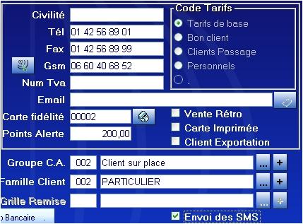 Logiciel de caisse gestmag comment envoyer des sms mes clients 7 - Vente privee numero telephone ...