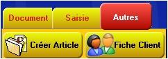 logiciel de caisse gestmag 2005: accès à la fiche client de la caisse