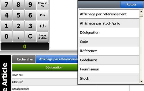 logiciel de caisse globalpos retail 1.9.5: la recherche
