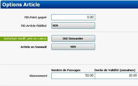 globalpos retail 1.9.5: abonnements