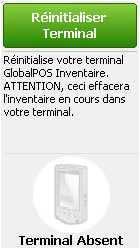 logiciel de caisse globalpos: le terminal d'inventaire