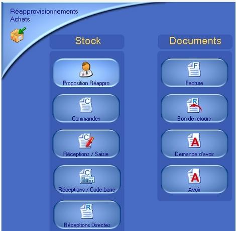 logiciel de caisse ht-soft: les achats