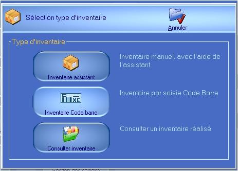 logiciel de caisse ht-soft: les inventaires