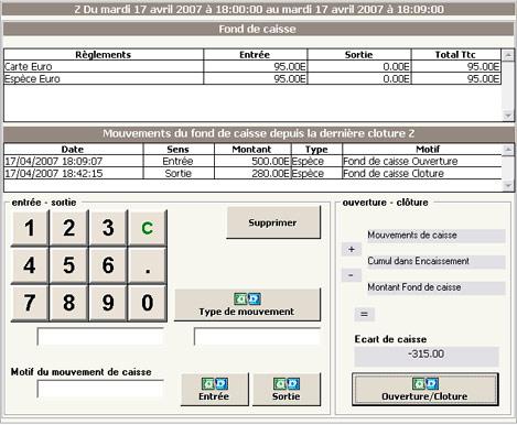 Gestion du fond de caisse dans InnoPos 2.5