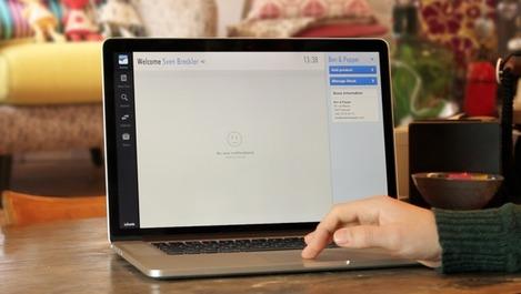 Logiciel en ligne Lacuenta, utilisé sur Mac