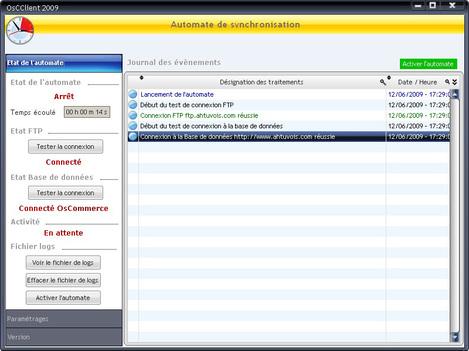 Synchronisation automatique de Gestmag avec le site d'e-commerce