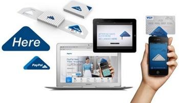 PayPal Here utilisable sur mobiles, tablettes, et ordinateurs