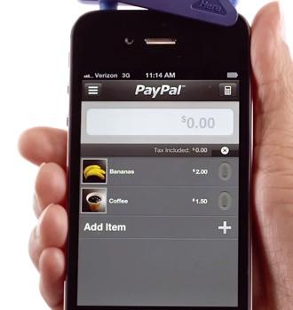 PayPal Here: prêt à faire une vente!