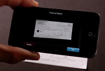 """PayPal Here: confirmez en appuyant sur """"Use"""""""