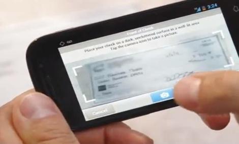 PayPal Here: scan du chèque