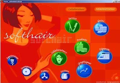 logiciel de caisse softhair