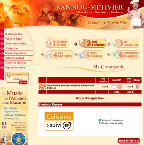 site web marchand de Rannou-Métivier