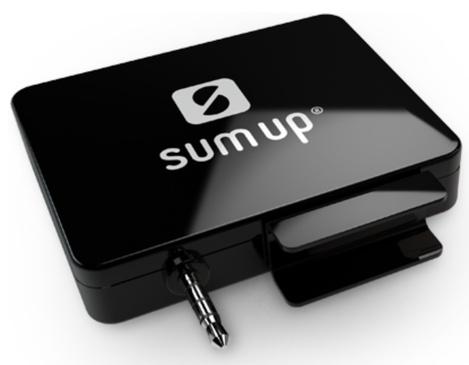 Le lecteur de carte bancaire (Visa et MasterCard) de SumUp