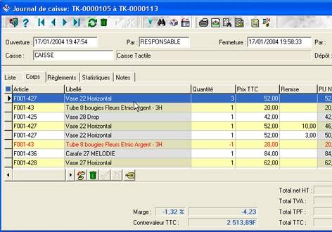 logiciel de caisse xl pos